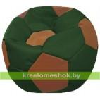 """Кресло-мешок """"Мяч Стандарт"""" коричнево-зеленое"""