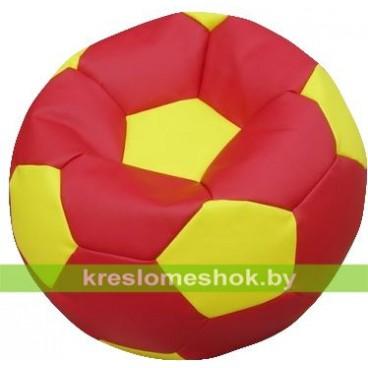 """Кресло-мешок """"Мяч Стандарт"""" красно-оранжевый"""