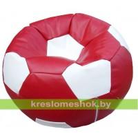 """Кресло-мешок """"Мяч Стандарт"""" бордово-белый"""