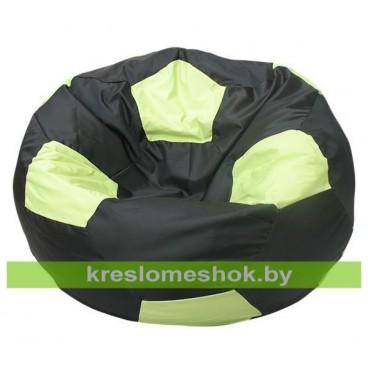 Кресло-мешок Мяч Стандарт Бобби (чёрно-салатовый)