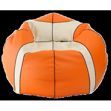 """Кресло-мешок """"Баскетбольный Мяч Медиум"""" оранжевый"""