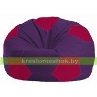 Кресло мешок Мяч фиолетовый - малиновый М 1.1-68