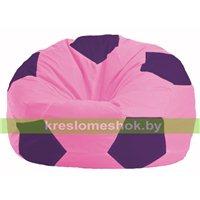 Кресло мешок Мяч розовый - фиолетовый М 1.1-191