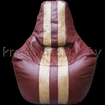 Кресло мешок Спортинг бордовый