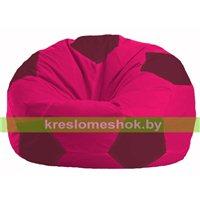 Кресло мешок Мяч малиновый - бордовый М 1.1-384