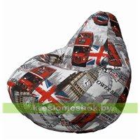 Кресло-мешок Груша Лондон бус