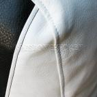 Кресло мешок Спортинг экокожа с полосками (75 х 100 см)