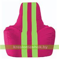 Кресло-мешок Спортинг лиловый - салатовый С1.1-390