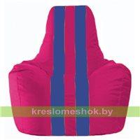 Кресло-мешок Спортинг лиловый - синий С1.1-375