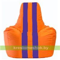 Кресло-мешок Спортинг оранжевый - фиолетовый С1.1-208