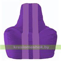 Кресло мешок Спортинг фиолетовый - сиреневый С1.1-71