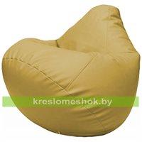 Бескаркасное кресло-мешок Груша Г2.3-08 охра