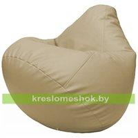 Бескаркасное кресло-мешок Груша Г2.3-12 бежевый