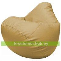 Бескаркасное кресло-мешок Груша Г2.3-13 бежевый