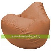 Бескаркасное кресло-мешок Груша Г2.3-20 оранжевый