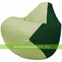Бескаркасное кресло-мешок Груша Г2.3-0401 светло-салатовый, зелёный