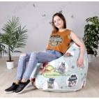 Кресло-мешок Груша Китти