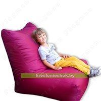 Кресло-мешок лежак малиновый
