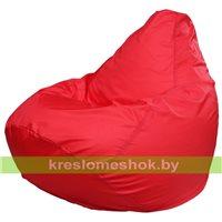 Кресло мешок Груша Макси красное