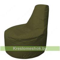 Кресло мешок Трон Т1.1-11(тем.оливковый)