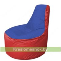 Кресло мешок Трон Т1.1-1402(синий-красный)