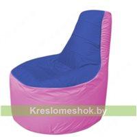 Кресло мешок Трон Т1.1-1403(синий-розовый)