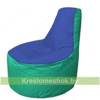Кресло мешок Трон Т1.1-1412(синий-бирюзовый)
