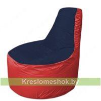 Кресло мешок Трон Т1.1-1602(тем.синий-красный)