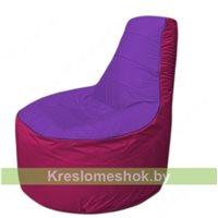 Кресло мешок Трон Т1.1-1804(фиолетовый-фуксия)