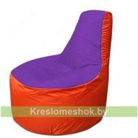 Кресло мешок Трон Т1.1-1805(фиолетовый-оранжевый)