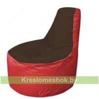 Кресло мешок Трон Т1.1-1902(коричневый-красный)
