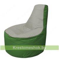 Кресло мешок Трон Т1.1-2208(серый-зеленый)