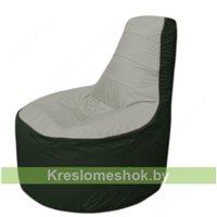 Кресло мешок Трон Т1.1-2209(серый-тем.зеленый)