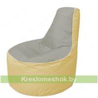 Кресло мешок Трон Т1.1-2220(серый-бежевый)