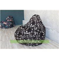 Кресло-мешок Груша Лофт (ткань фактурная)