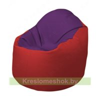 Кресло-мешок Браво Б1.3-N32N09 (фиолетовый - красный)