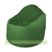 Кресло-мешок Браво Б1.3-N77N67 (темно-зеленый, зелёный)