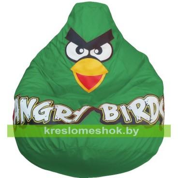 Кресло мешок Птичка зеленая