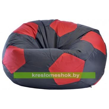 Кресло мешок Мяч Стандарт черно-красный