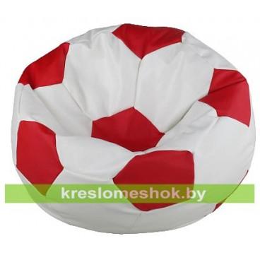 Кресло-мешок Мяч Стандарт красно-белое