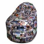 Кресла мешки с принтом фотопечать