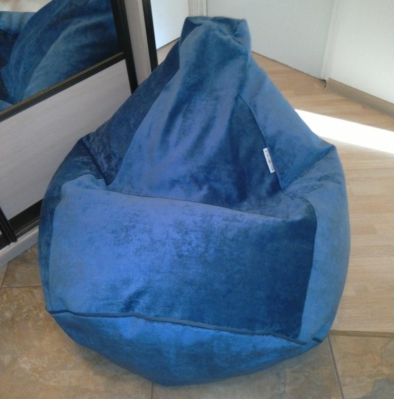кресло груша велюр