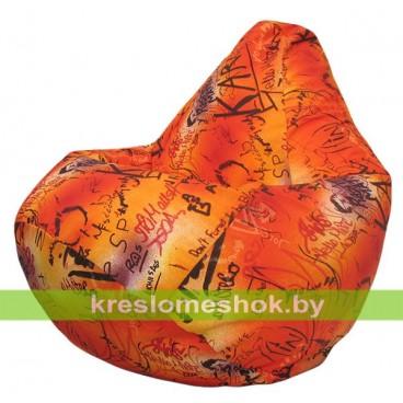 Кресло-мешок Груша Графитис