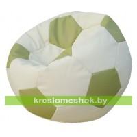 Кресло-мешок Мяч Стандарт бело-оливковое
