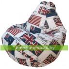 Кресло-мешок Груша Флаг