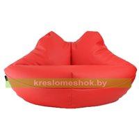 Кресло мешок Губы экокожа (110 х 60 см)
