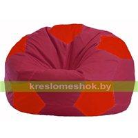Кресло мешок Мяч бордовый - красный М 1.1-308