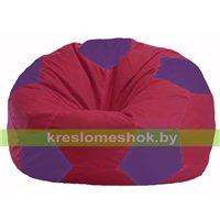 Кресло мешок Мяч бордовый - фиолетовый М 1.1-453