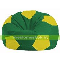 Кресло мешок Мяч зелёный - жёлтый М 1.1-463