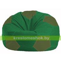 Кресло мешок Мяч зелёный - тёмно-оливковый М 1.1-236